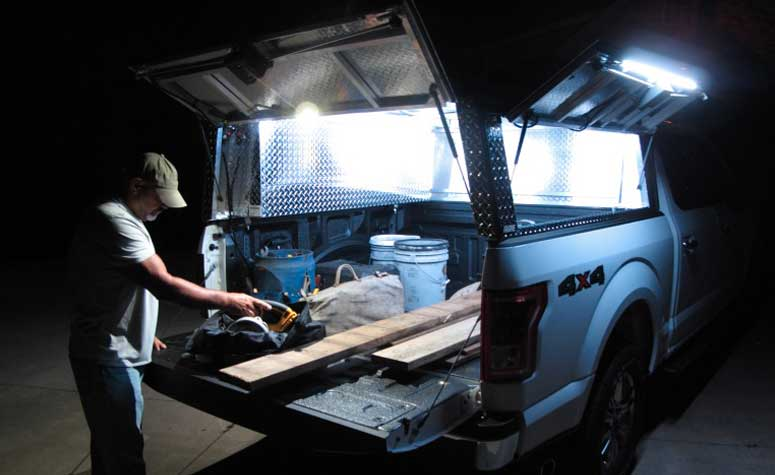 Interior Pickup Truck Bed Lighting