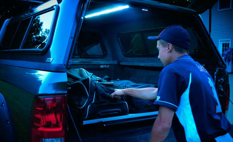 Cargo Lights for Pickup Truck Bed