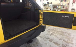 Interior Truck carpet