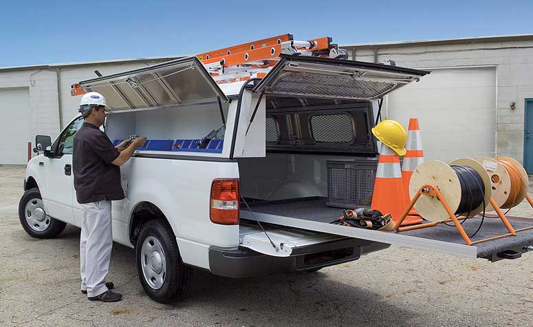 Commercial Pickup Truck Storage Compartments