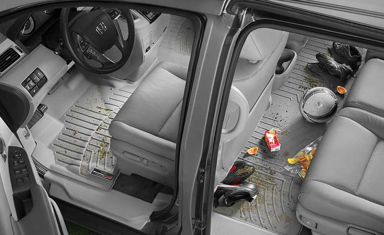 Front Back Floor Liners | Auto Floor Mats