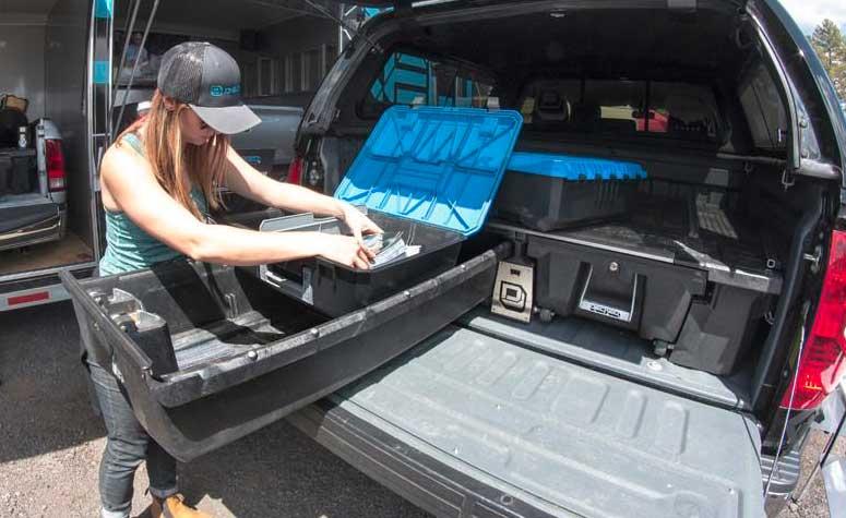 Decked Truck Storage | Sanford, NC