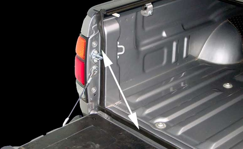 Pickup Truck Tailgate Seal