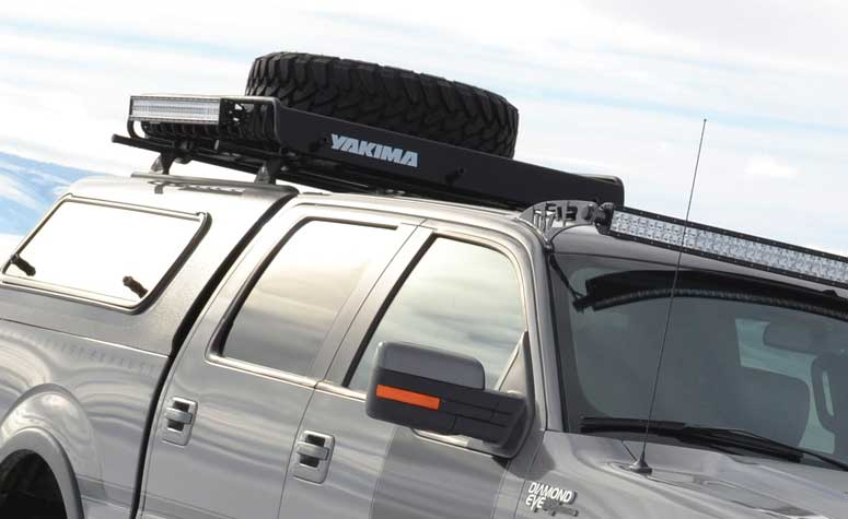 Pickup Truck Tire Carriers