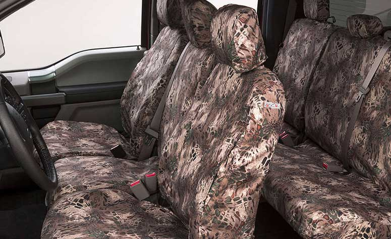 Camouflage Seat Covers for Trucks