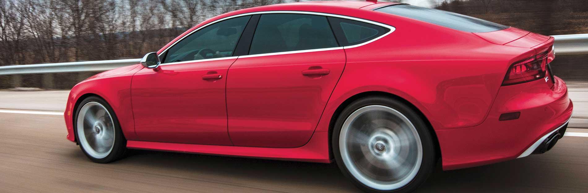 Red Car Tinted Windows | Kar Kraft Automotive
